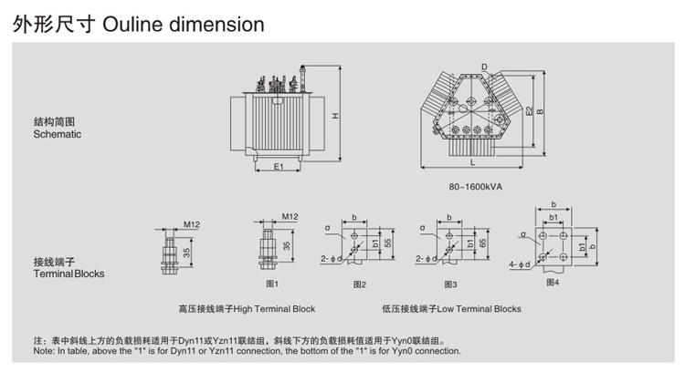 20kv级s13-mrl三角形立体卷铁芯电力变压器